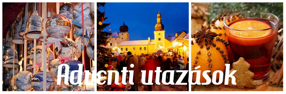 Tél, hó, meleg sál, forralt bor és csillogó városok